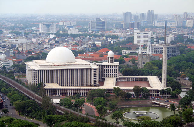 The Istiqlal Mosque, Jakarta