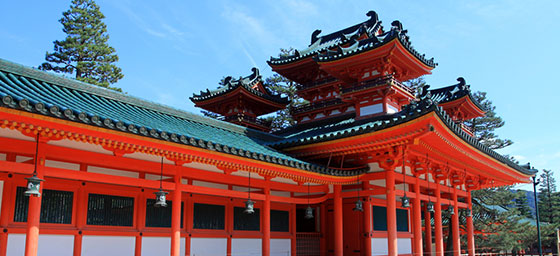 Japan: Heian Shrine, Kyoto