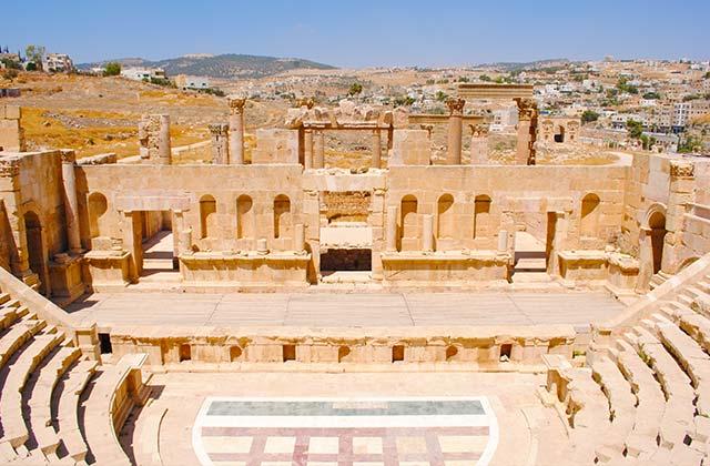 Amphitheatre, Jerash | by Flight Centre's Katrina Imbruglia