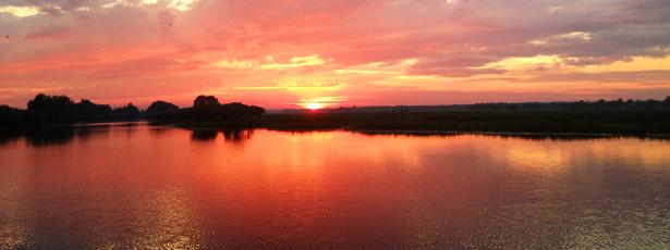 Sunset in Kakadu NP