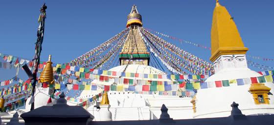 Kathmandu: Boudhanath Stupa