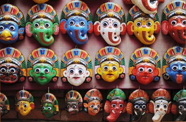 Souvenir Masks For Sale