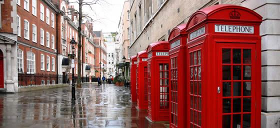 London: Iconic London phoneboxes