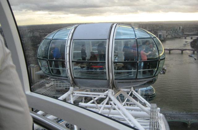 London Eye   by Flight Centre's Katrina Imbruglia