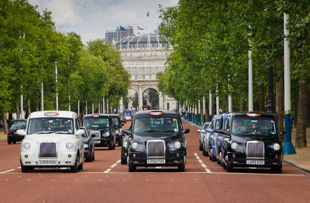 London Taxis   by Flight Centre's Olivia Mair