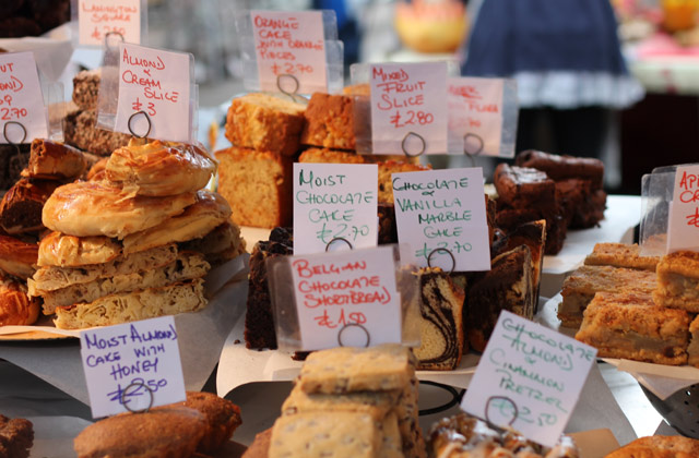 Pastries For Sale, Camden Markets   by Flight Centre's Simon Collier-Baker