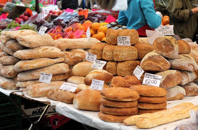 Bread for Sale, Portobello Road Market   by Flight Centre's Simon Collier-Baker