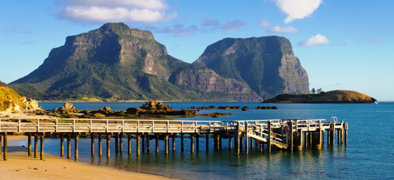 Lord Howe Island: Mount Lidgbird and Mount Gower