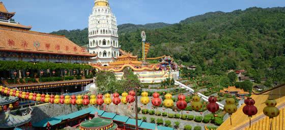 Malaysia: Kek Lok Si Temple
