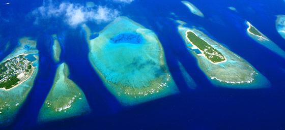 Maldives: Archipelago Aerial