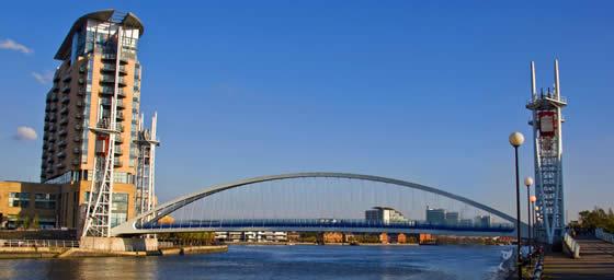 Manchester: Millennium Bridge