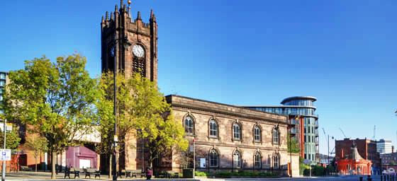 Manchester: Sacred Trinity Church