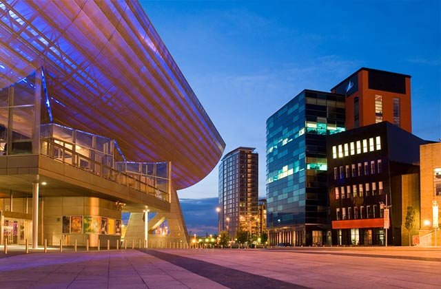 The Lowry, Pier 8, Salford Quays