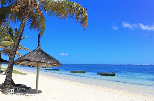 A Beautiful Mauritian Beach