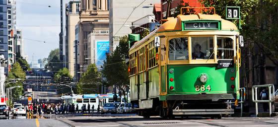 Melbourne: Tram