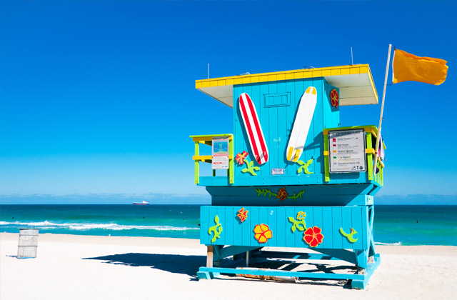 Lifeguard Tower, South Beach