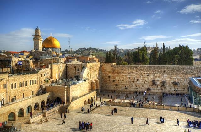 Western Wall, The Old City, Jerusalem, Israel