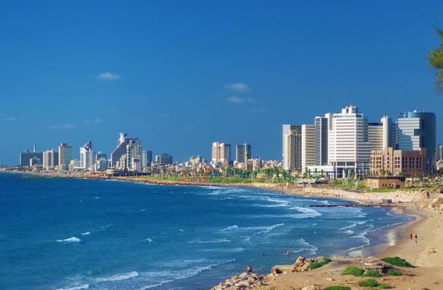 Coastline, Tel Aviv, Israel