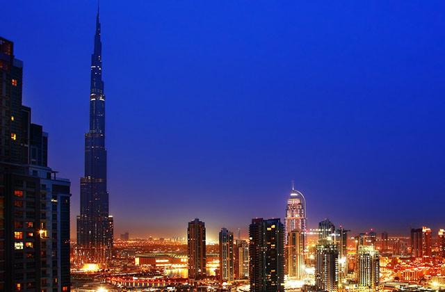 Skyline, Dubai, United Arab Emirates