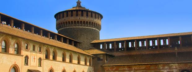 Sforza Castle Milan Italy