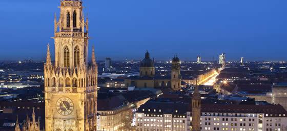 Munich: City at Night