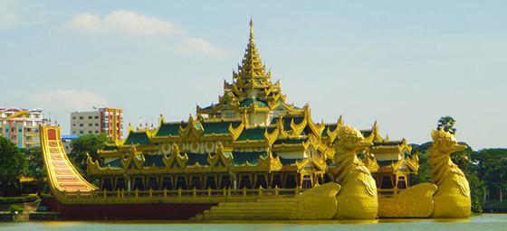 Myanmar: Yangon Boat