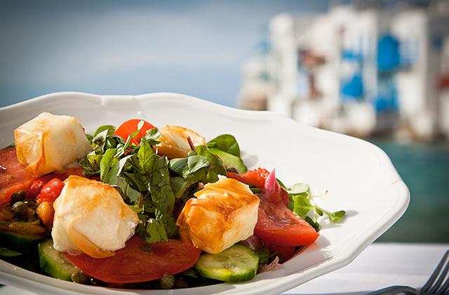 Enjoy a Greek Salad