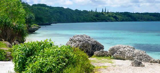 New Caledonia: Picturesque Beach