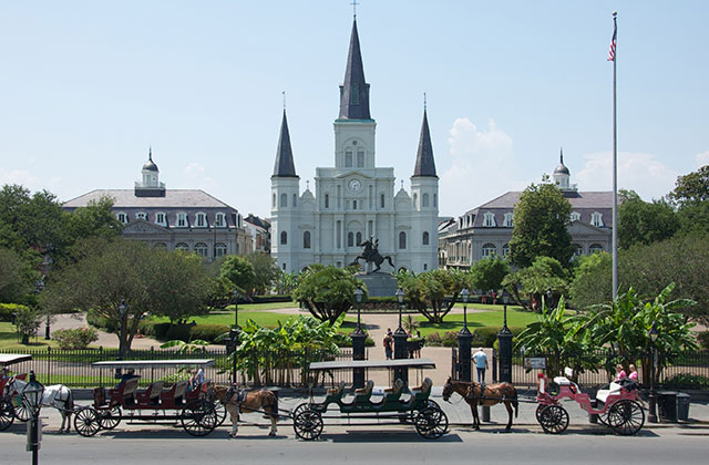 Jackson Square, the French Square