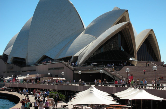 The Sydney Opera House and Forecourt, Sydney | by Flight Centre's Kylie Wright
