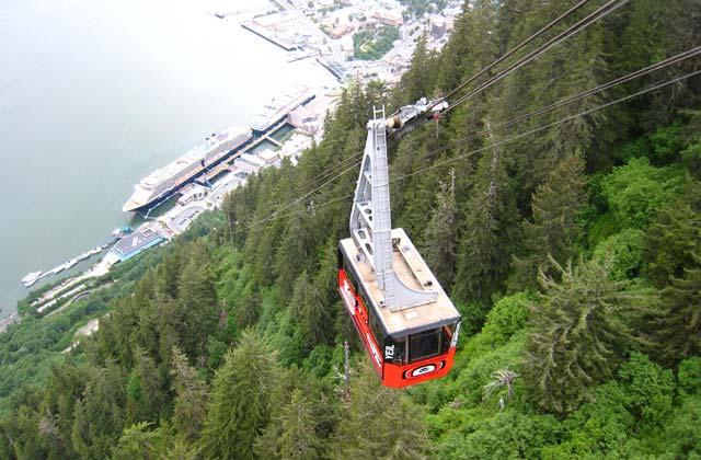Mount Roberts Tramway, Juneau, Alaska, United States | by Flight Centre's Talia Schutte
