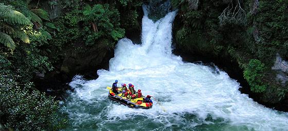 North Island: Rafting in Rotorua