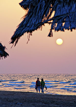 Sunset Beach Stroll | by the Sultanate of Oman Tourism