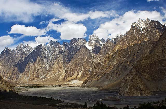 Karakorum Mountain Peaks, near Passu