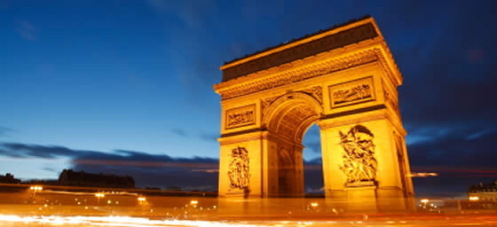 Paris Holidays: Arc de Triomphe