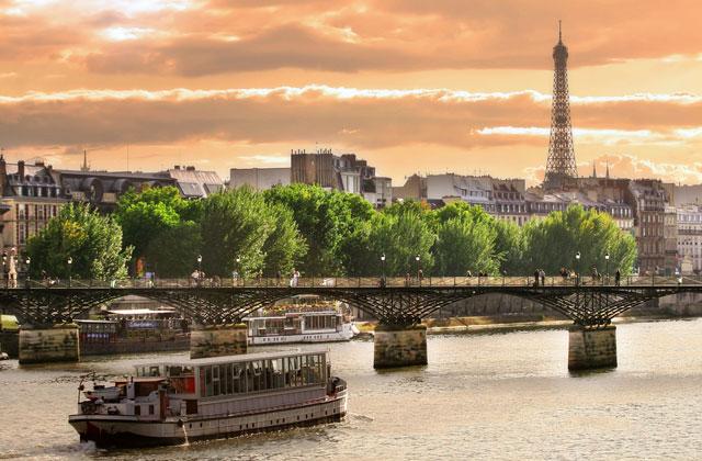 Cruising the River Seine