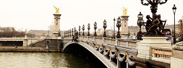 Paris Tourist Attractions - Pont Alexandre III