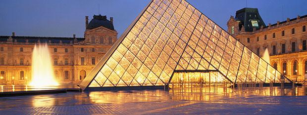 Paris Tourist Attractions - Louvre