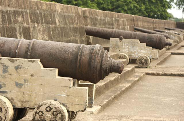 Antique Canons, Fort Augusta, Manila
