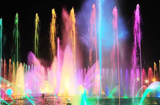 Fountain Show, Rizal Park, Manila