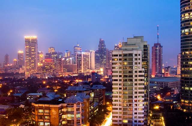 Night Skyline, Manila