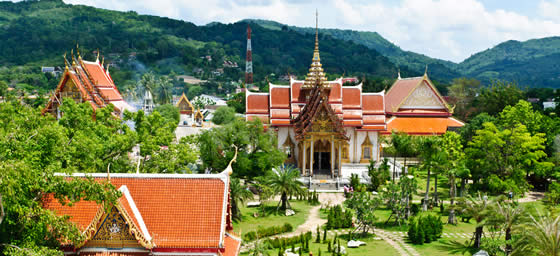 Phuket Holidays Packages: See Chalong Temple