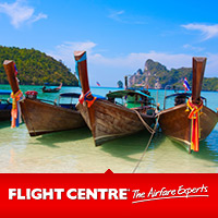cheap flights to phuket great deals at flight centre. Black Bedroom Furniture Sets. Home Design Ideas