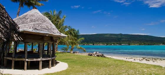 Samoa: Beach Hut