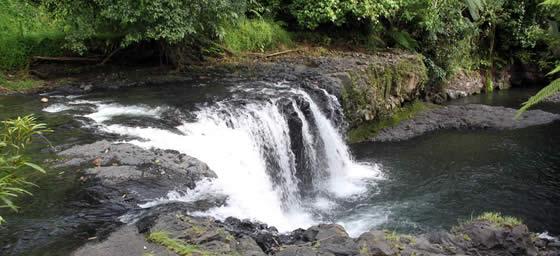 Samoa: Waterfall
