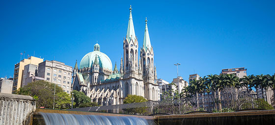 Brazil: Sao Paulo Cathedral