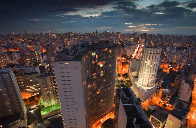 Night Skyline, São Paulo