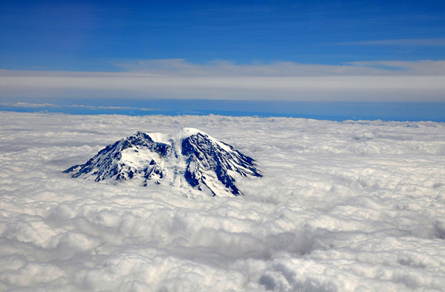 Mount Rainer, a day trip from Seattle