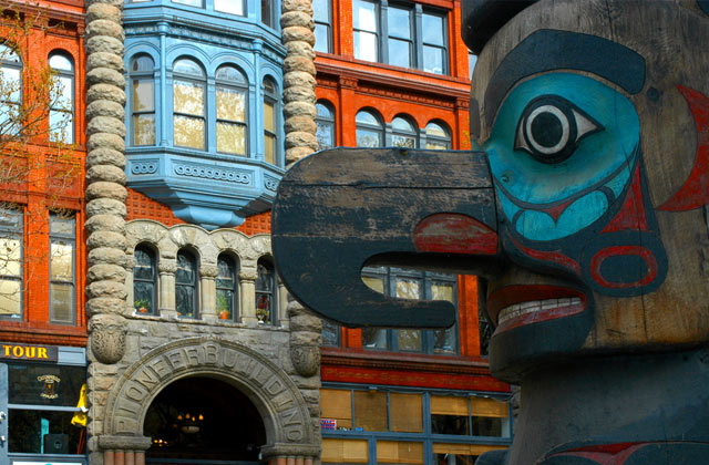 Totem Pole, Pioneer Square