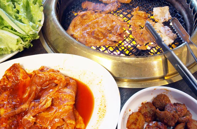 Korean Barbeque and Kimchi